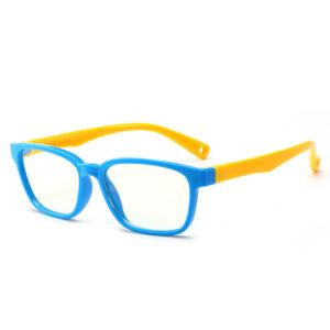 Alege ochelari uVision Spring Kids Blue pentru a proteja vederea copilului tau de lumina albastra a calculatorului.
