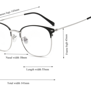 Alege ochelari uVision Class Silver pentru ati proteja vederea de lumina albastra a calculatorului.