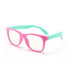Alege ochelari uVision Rogue Kids Pink pentru a proteja vederea copilului tau de lumina albastra a calculatorului.