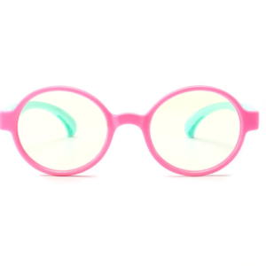Alege ochelari uVision Harry Kids Mint & Pink pentru a proteja vederea copilului tau de lumina albastra a calculatorului.