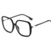 Alege ochelari uVision Wilma Black pentru ati proteja vederea de lumina albastra a calculatorului.